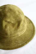 TROPHY CLOTHING/トロフィークロージング   「Suede Deck Hat」 スウェードアーミーハット