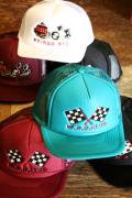 WEIRDO/ウィアード   「WRD RACER - CAP」  オリジナル刺繍メッシュキャップ