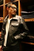AMERICAN WANNABE/アメリカンワナビーオリジナル   「G Leather Jacket」  レザージャケット