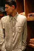 GANGSTERVILLE/ギャングスタービル   「PAISLEY  - L/S SHIRTS」  ニットペイズリーシャツ