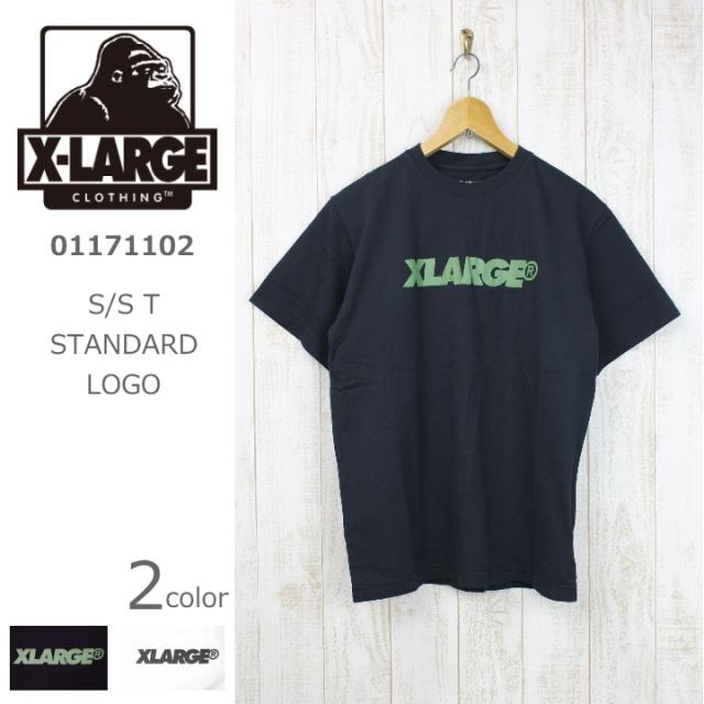 X-LARGE/エクストララージ S/S T STANDARD LOGO