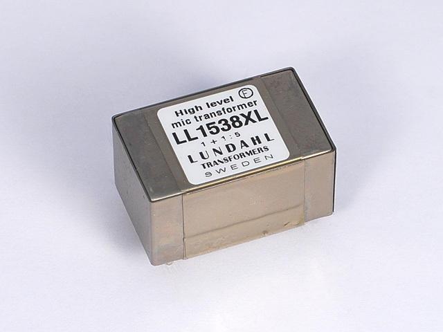【受注オーダー品】Lundahl(ルンダール)LL1538XL マイクロフォン用トランス