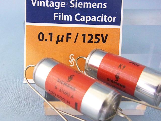 Siemens 0.1μF/125V