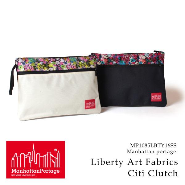 (マンハッタンポーテージ) Manhattan Portage クラッチバッグ Liberty Art Fabrics Citi Clutch メンズ レディース