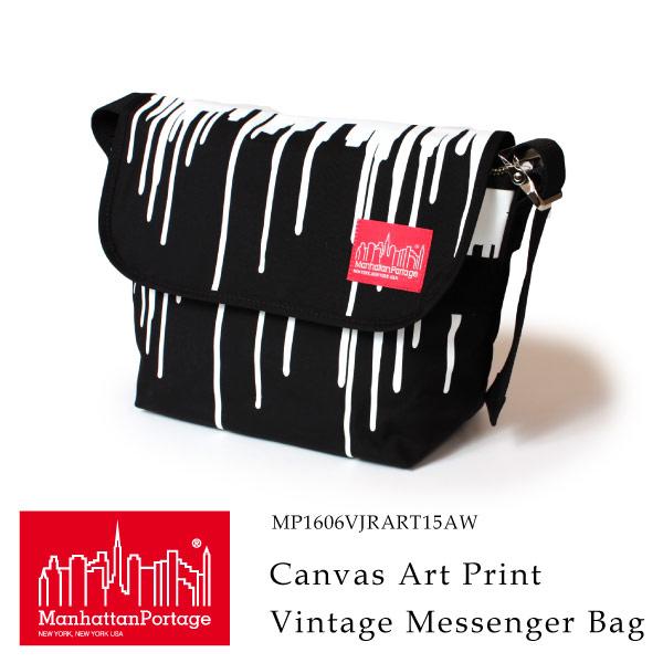 (マンハッタンポーテージ) Manhattan Portage メッセンジャーバッグ ショルダーバッグ Canvas Art Print Vintage Messenger Bag