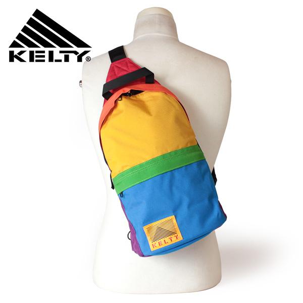 【即納】【送料無料】KELTY ケルティー ボディバッグ レインボーワンショルダー RAINBOW ONE SHOULDER 8L