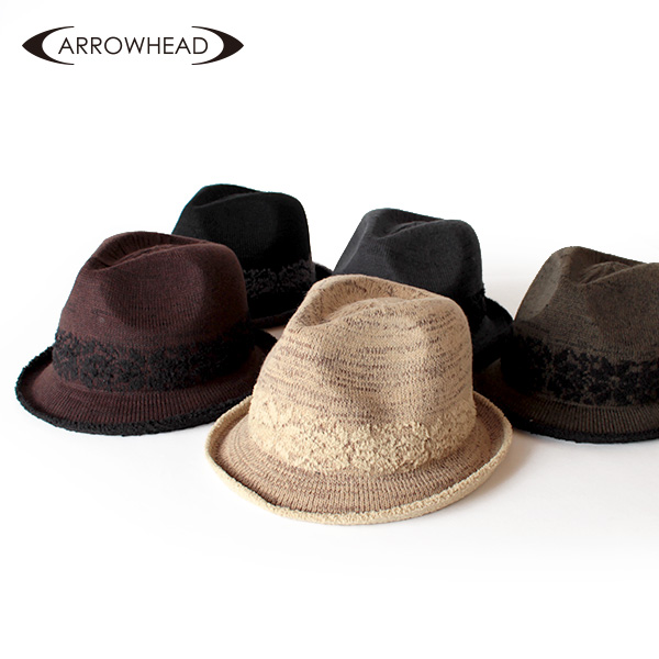 【即納】ARROWHEAD アローヘッド サーモハット 中折れハット 帽子 F58cm