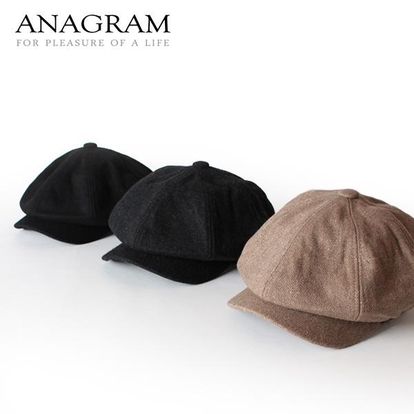 【即納】ANAGRAM アナグラムキャスケット ニュースキャップ 帽子