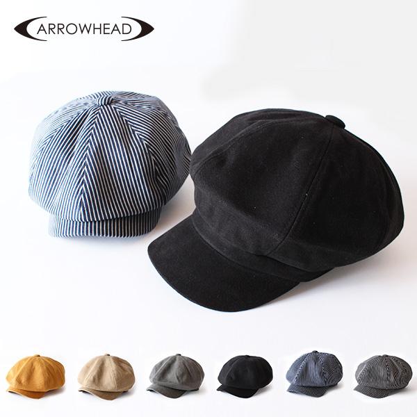 【即納】ARROWHEAD アローヘッド ダックキャスケット ニュースキャップ 大きいサイズ 帽子