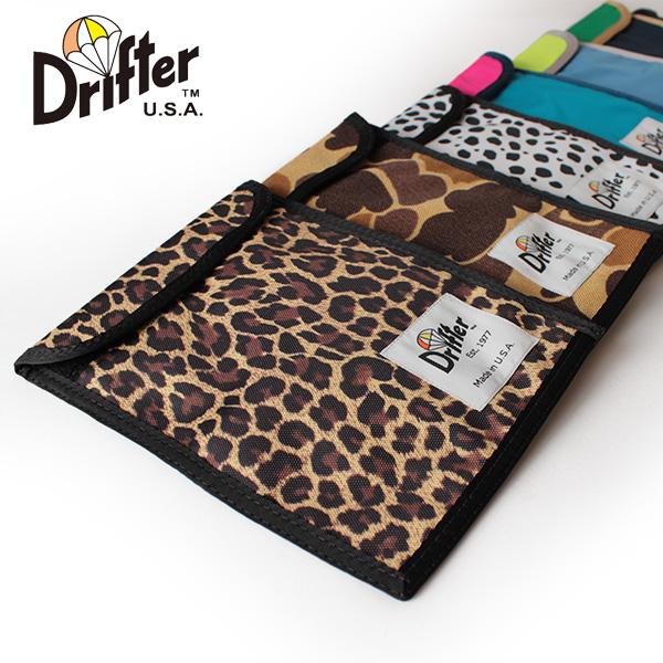 【即納】Drifter ドリフター ネックポーチ パスポートケース 定期入れ DF240 NECK POUCH 【ネコポス対応/メール便送料無料】
