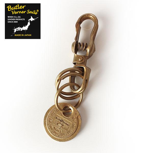 【即納】Butler Verner Sails 真鍮製 ブラスキーホルダー プラグギャップツール バトラーバーナーセイルズ 【ネコポス対応/メール便送料無料】