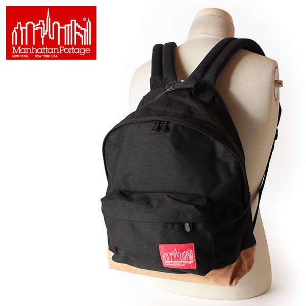翌日配達【即納】【送料無料】Manhattan Portage マンハッタンポーテージ リュックサック デイパック Suede Fabric Backpack MP1209SD12