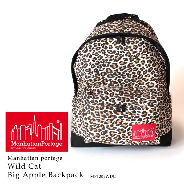 (マンハッタンポーテージ) Manhattan Portage リュックサック デイパック ワイルドキャット ビッグアップル Wild Cat Big Apple Backpack