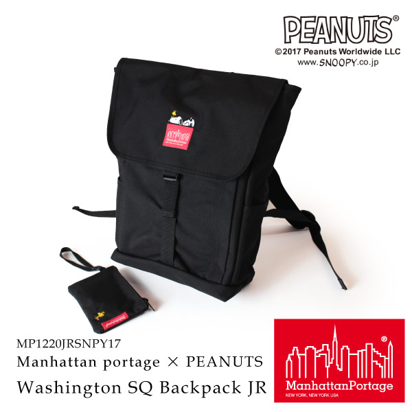 (マンハッタンポーテージ) Manhattan Portage × PEANUTS Washington SQ Backpack JR MP1220JRSNPY17