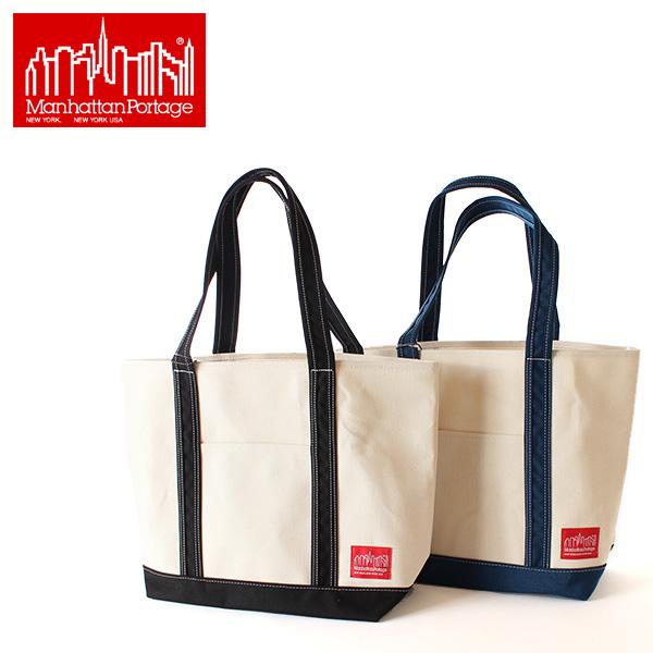 翌日配達【即納】【送料無料】Manhattan Portage マンハッタンポーテージ キャンバス ダックミディアムトートバッグ Duck Fabric Midium Tote bag MP1306 鞄