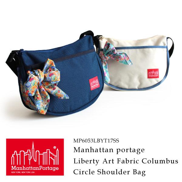 (マンハッタンポーテージ) Manhattan Portage Liberty Art Fabrics Columbus Circle Shoulder Bag MP6053LBTY17SS