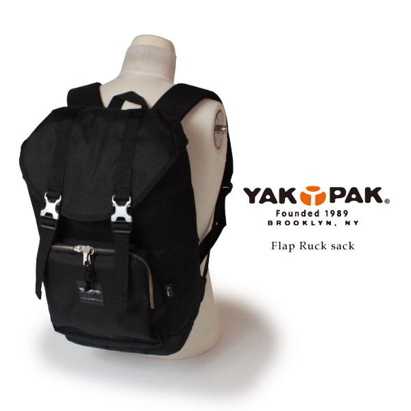 (ヤックパック) YAKPAK フラップ リュックサック デイパック デイパック 18L メンズ レディース