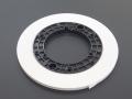 "PYRAL (RMG) リーダーテープ Leader Tape 1/4""-6,3mm-250m/NAB HUB White 39103"