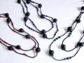 シピボ族 木の実のロングネックレス