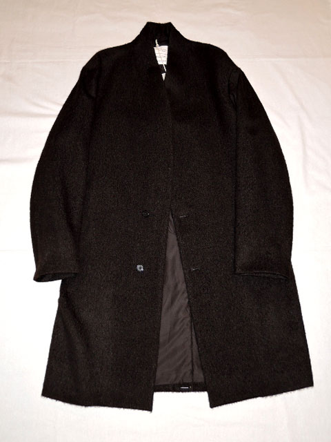 MARKAWARE (マーカウエア) MINIMALIST COAT A17C-02CO01C BLACK