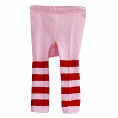 Stripe LEGGINGS - Red/PINK