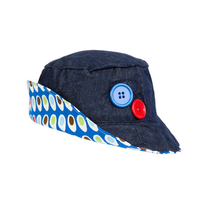 Ben Denim & Dino Egg Hat