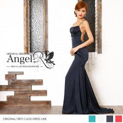 ロングドレス マーメイドドレス Aライン ドレス サイズ調整可能 細い 小さい キャバ ナイトドレス パーティー 女子会 結婚式 高級キャバドレスAngelR(エンジェルアール) AR7207