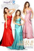 腰の蝶々が大人気テールロングドレス|高級キャバドレスAngelR(エンジェルアール)|(11322) Sサイズ(7-9号) 全12色