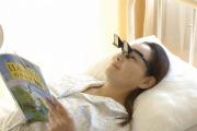 寝たままテレビや本が読めちゃいます^^    《ごろねスコープ》