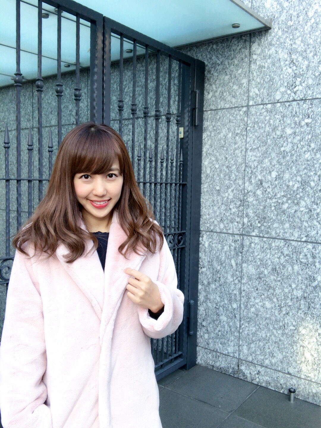 【selva secreta】FAKE FAR COAT(pink)