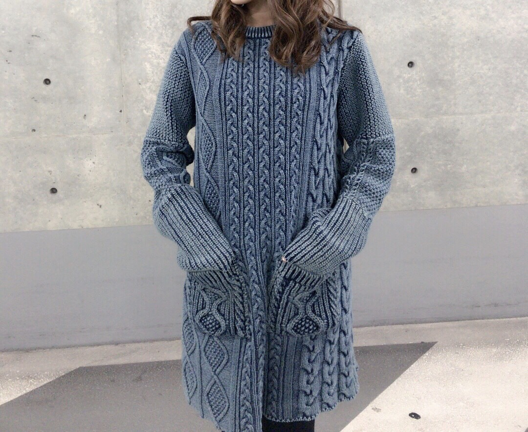【selva secreta】DENIM  KNIT