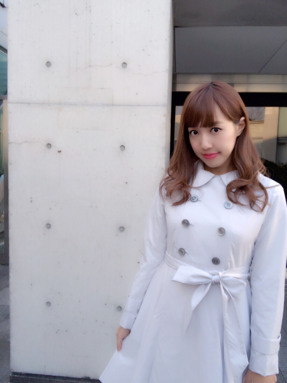 【selva secreta】SPRING FLARED  COAT(light-gray)
