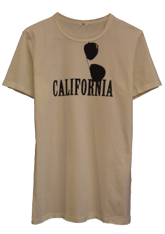 【AIR】CALIFORNIA T-SHIRT (WHITE)