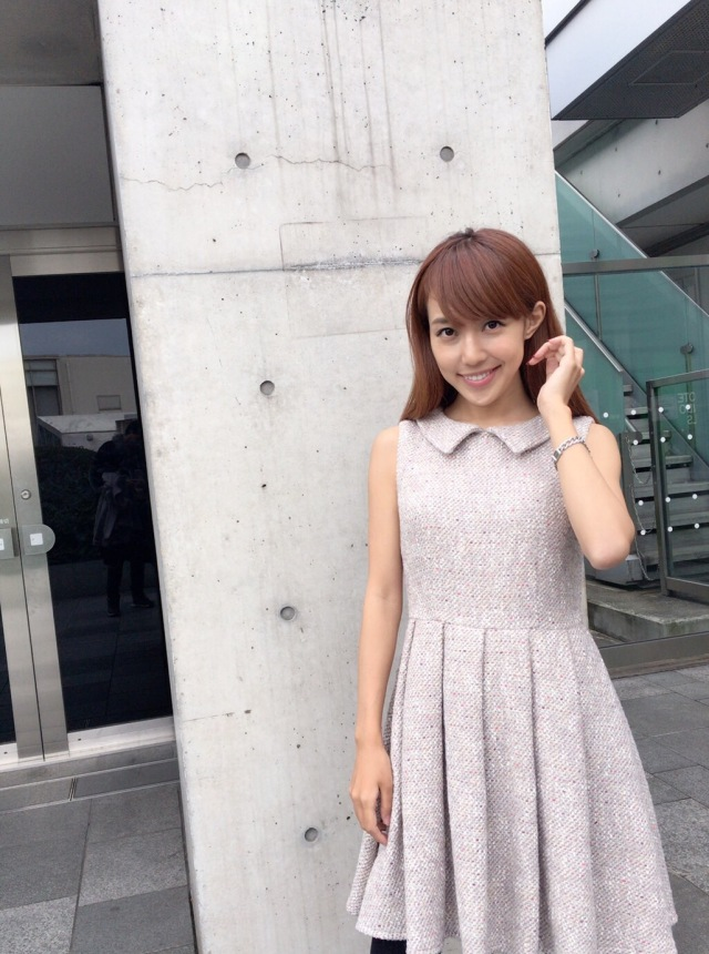 【selva secreta】TWEED DRESS(gray-pink)