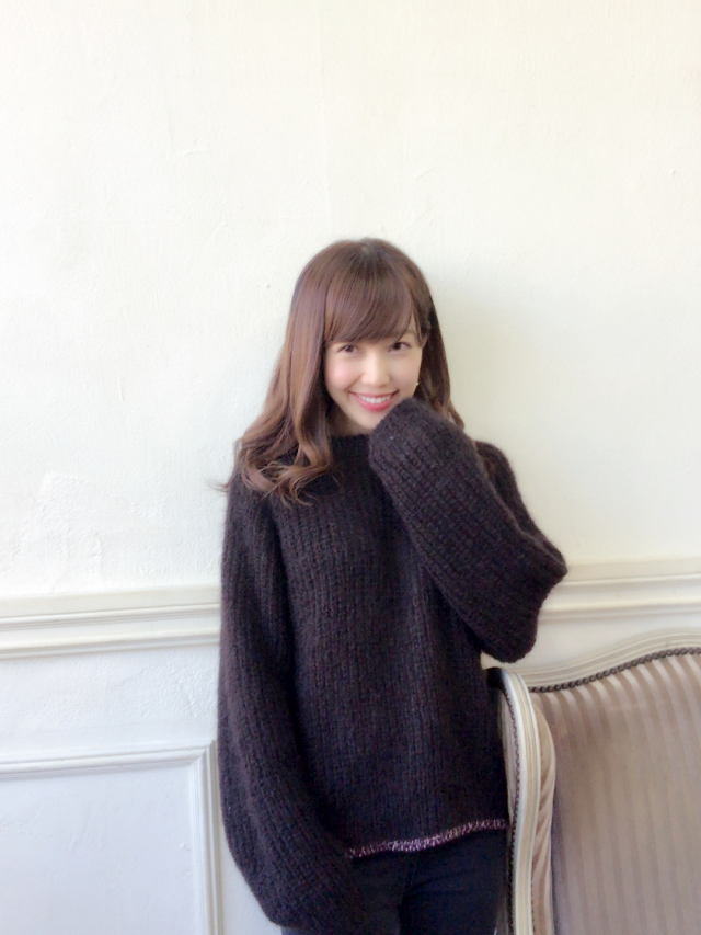 【selva secreta】MOHAIR KNIT(brown)