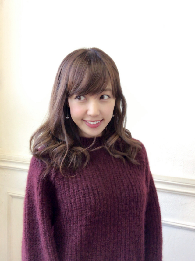 【selva secreta】MOHAIR KNIT(wine-red)