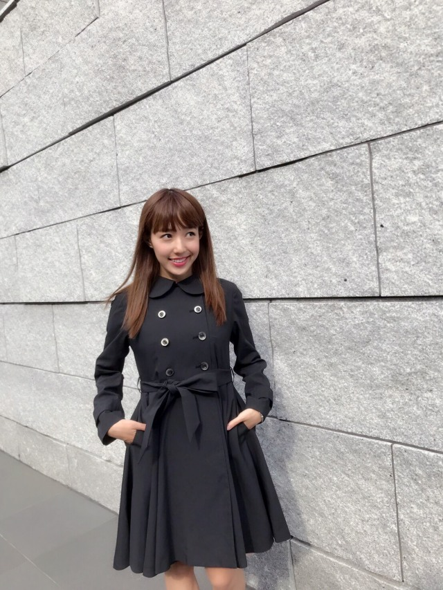 【selva secreta】SPRING FLARED  COAT(black)