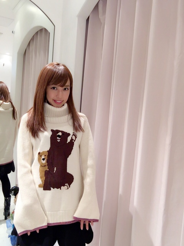 【selva secreta】BEAR KNIT(white)