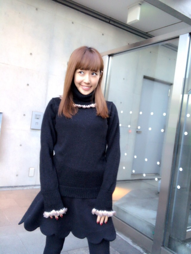 【selva secreta】ALPACA TURTLE KNIT(black)