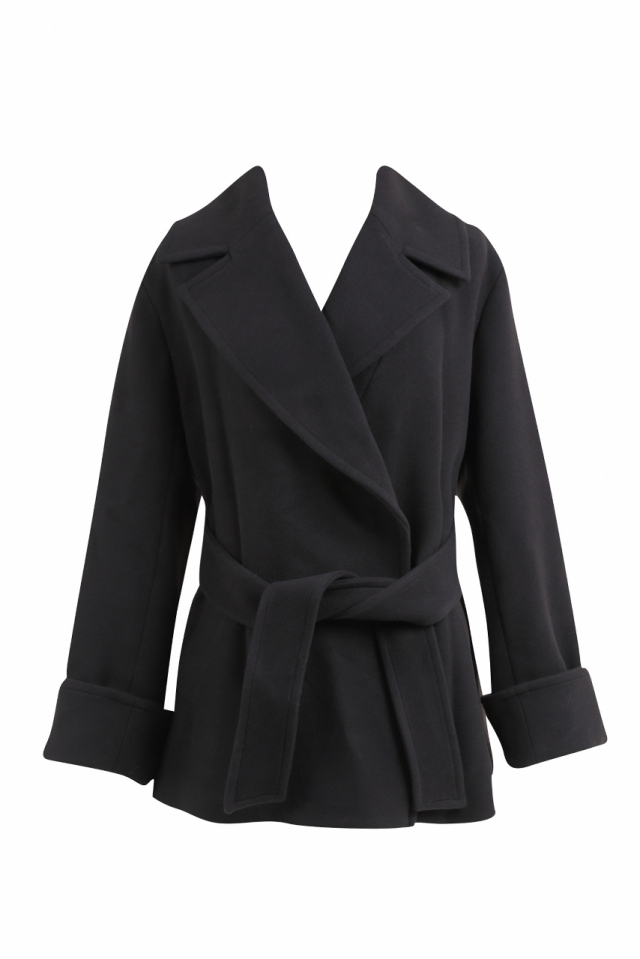 【selva secreta】SHORT COAT(black)