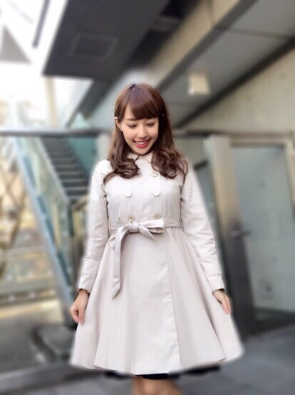 【selva secreta】SPRING FLARED  COAT(beige)