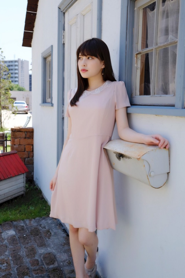 【SALE】【selva secreta】FLOWER BIJOU DRESS (pink)