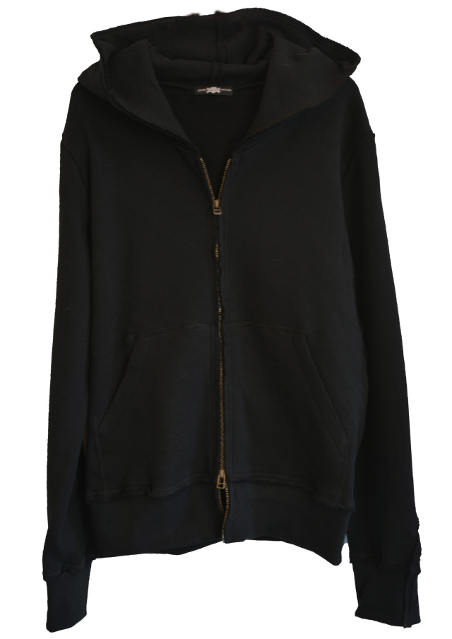 【ANTIMINSS】 SCRAP PARKA (BLACK)