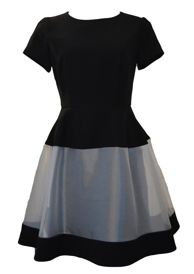 【selva secreta】SEE-THROUGH DRESS (black)