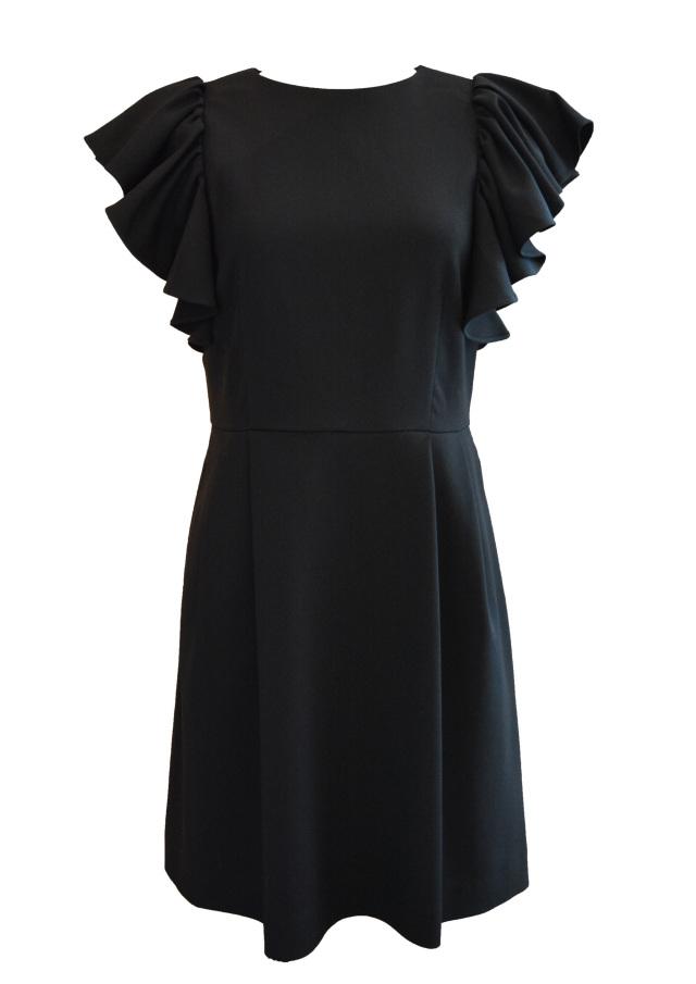 【selva secreta】ARM FRILL DRESS(black)