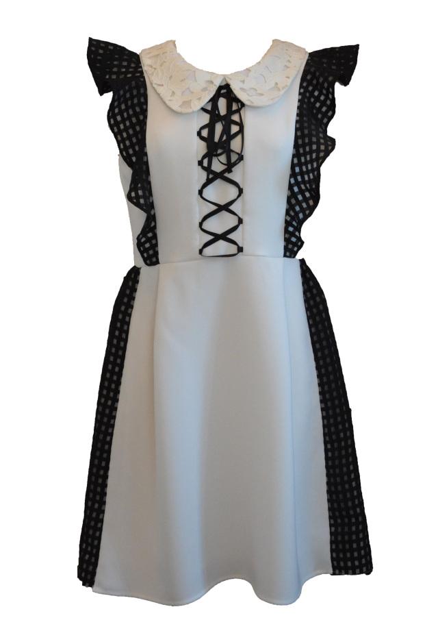 【予約販売】【selva secreta】PARIS DRESS(white)