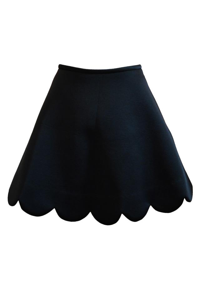 【selva secreta】candy floss skirt(black)
