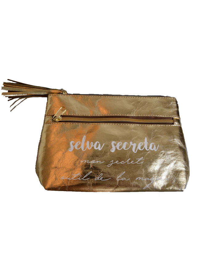 【予約販売】【selva secreta】MAKE PORCH (metallic gold)