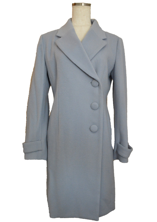 【selva secreta】WOOL LONG COAT(blue)