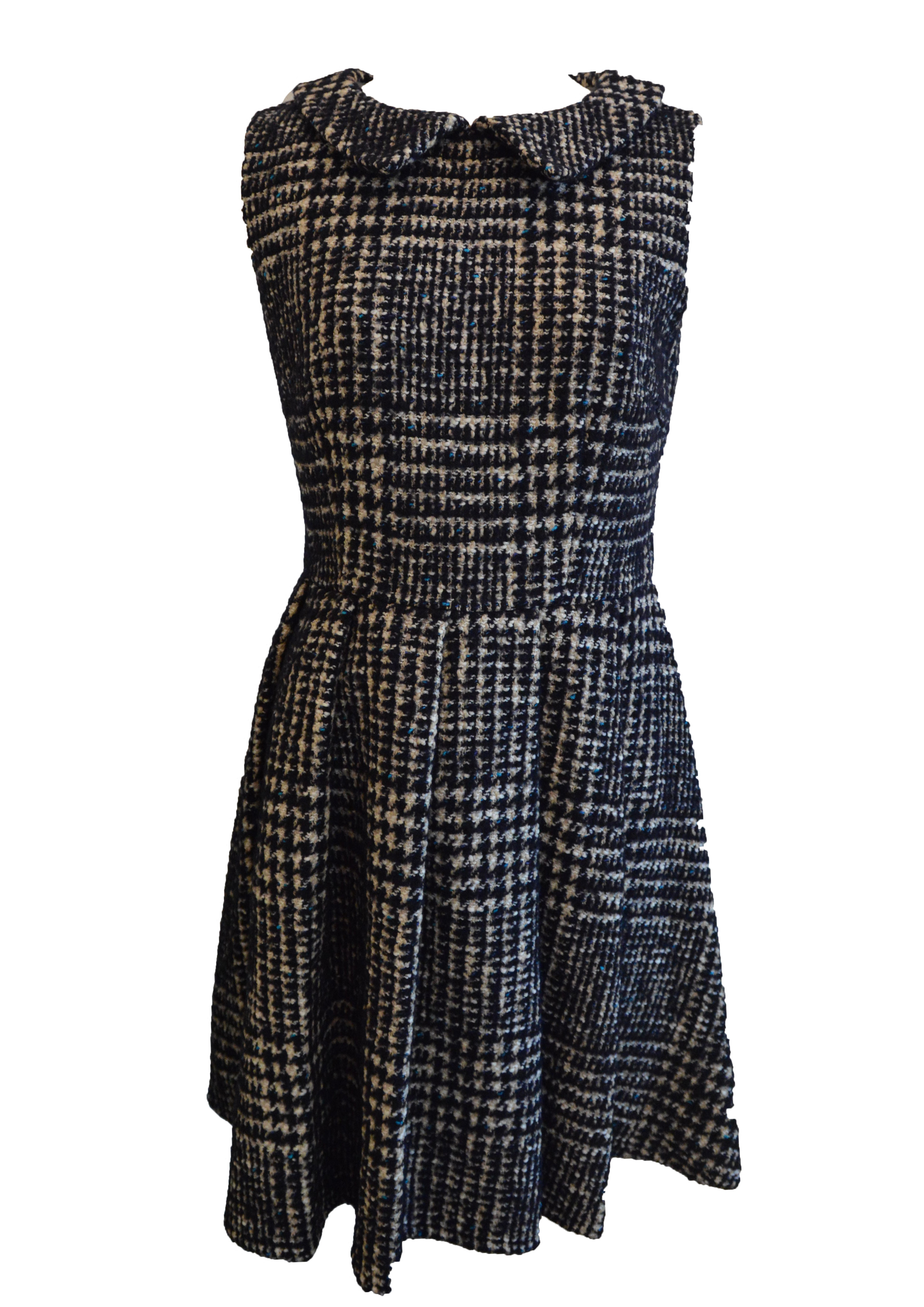 【selva secreta】TWEED DRESS(mix-black)